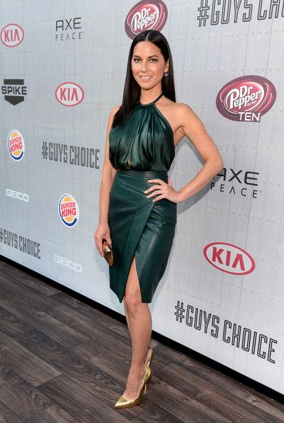 """Actress Olivia Munn attends Spike TV's """"Guys Choice 2014"""" at Sony Pictures Studios on June 7, 2014 in Culver City, California."""