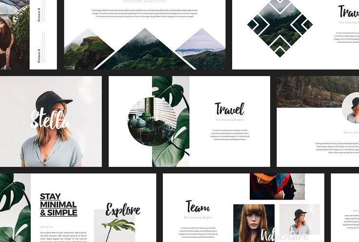 ASCHA - Powerpoint Template by TempLabs on @creativemarket
