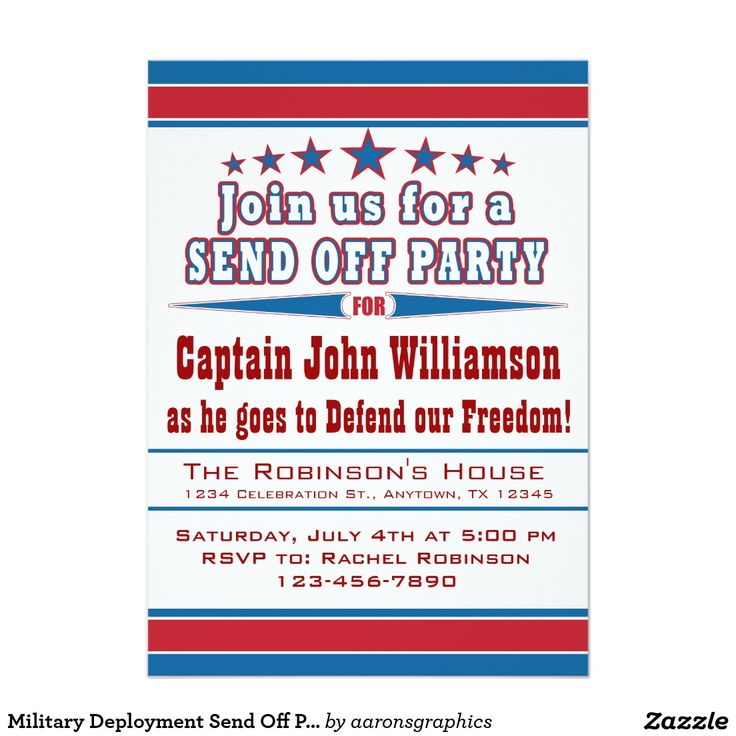 39 best Military retirement party invitations images on Pinterest ...