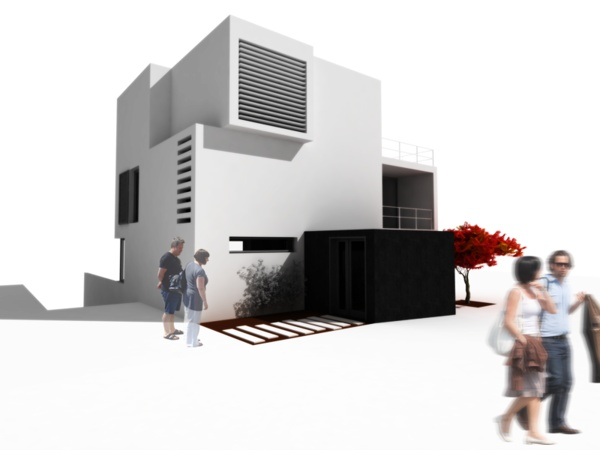 SLOPE HOUSE by Paulo Martins, via Behance