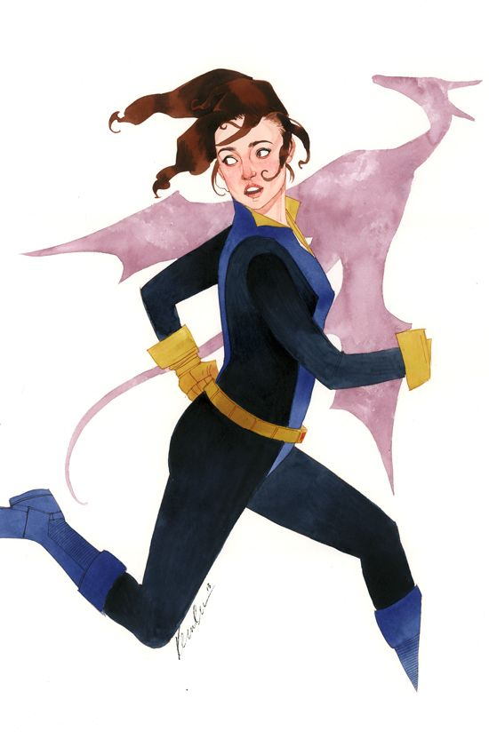 Stunning KITTY PRYDE Art by Kevin Wada — GeekTyrant