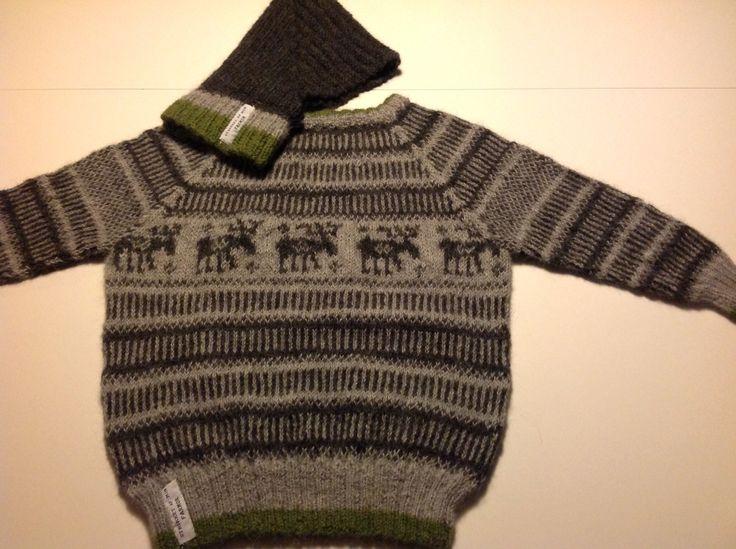 Sweater i baby alpaca