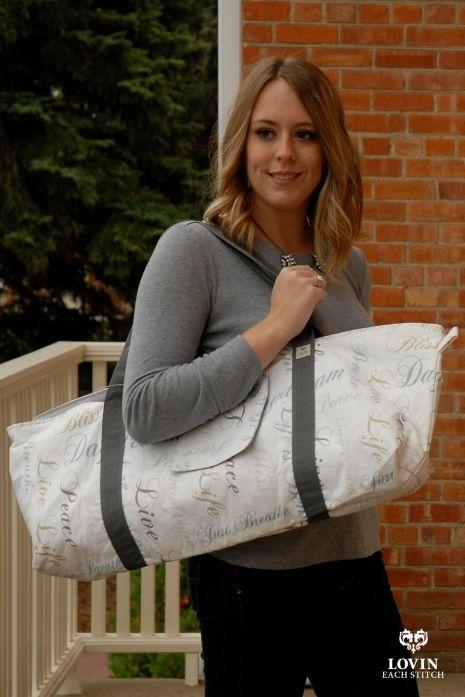 Yoga Mat Bag easily fits standard yoga mat (2 even!), block, water bottle and clothes! #yogi #yoga #yogamat #yogamatbag #yogabag