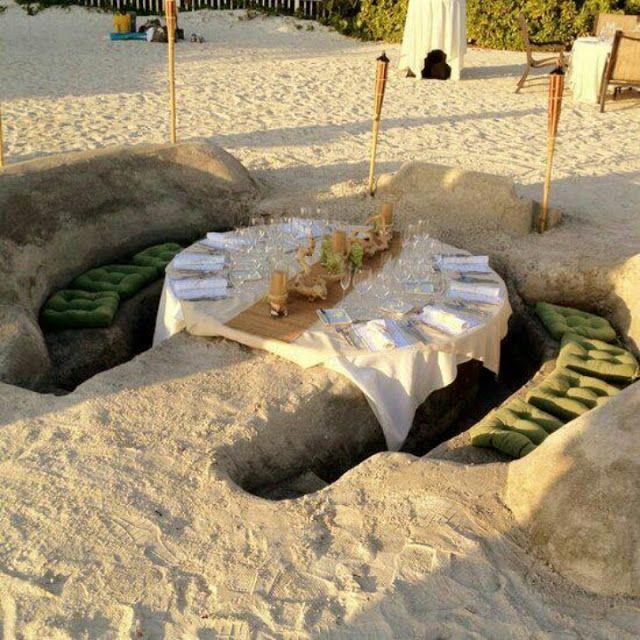 una idea fabulosa para fiesta en la playa