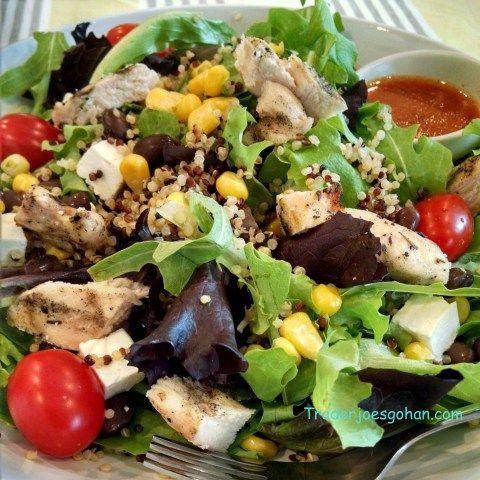 スターバックスのチキンとブラックビーンズのサラダ コピーキャットレシピ Starbucks Zesty Chicken & Black Bean Salad Bowl Copycat Recipe