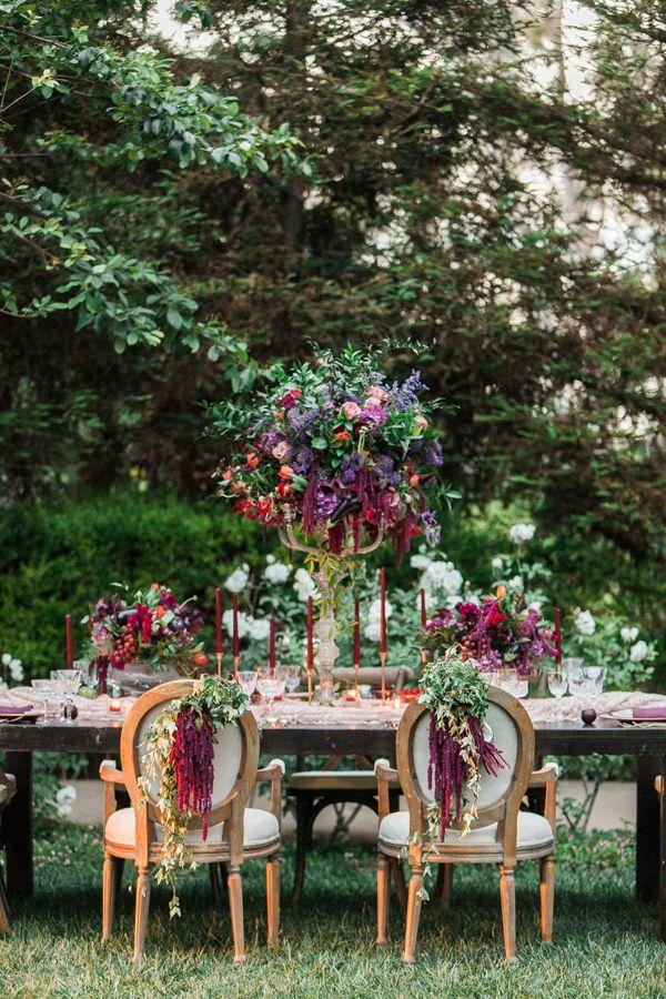 Enchanted Styled Wedding At Maravilla Gardens Reception Pinterest Garden And Themes