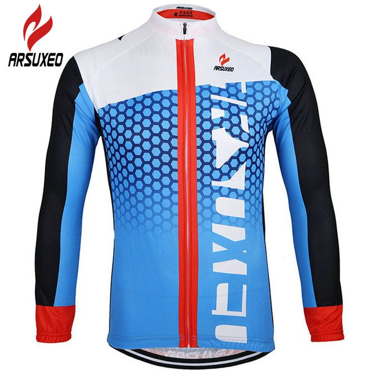 ARSUXEO Cycling Jersey 2017 Men MTB Bike Bicycle Motocross Downhill Equipment Clothes Basketball Baseball Jerseys Clothing 021ZJ * AliExpress Affiliate's buyable pin. Item can be found  on www.aliexpress.com by clicking the image #CyclingJerseys