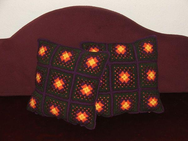 crochet pillow / horgolt párna http://habcsi.blogspot.hu/