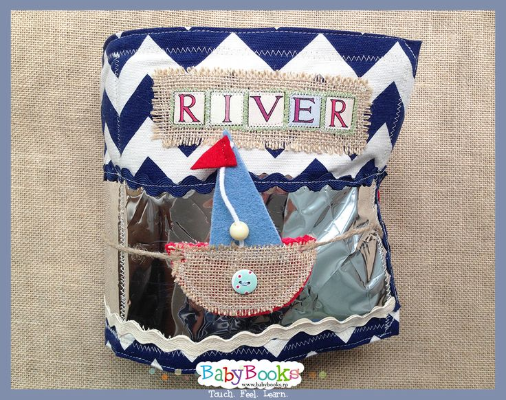 Activity book made for baby River.
