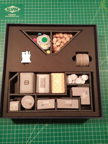 Fantastic and functional insert for Mad King Ludwig