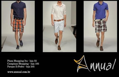 Confira nas Lojas Annual em Itu (Plaza Shopping Itu) e Campinas  (Shopping D. Pedro) as novidades da moda masculina e excelentes opções para as festas de fim de ano.