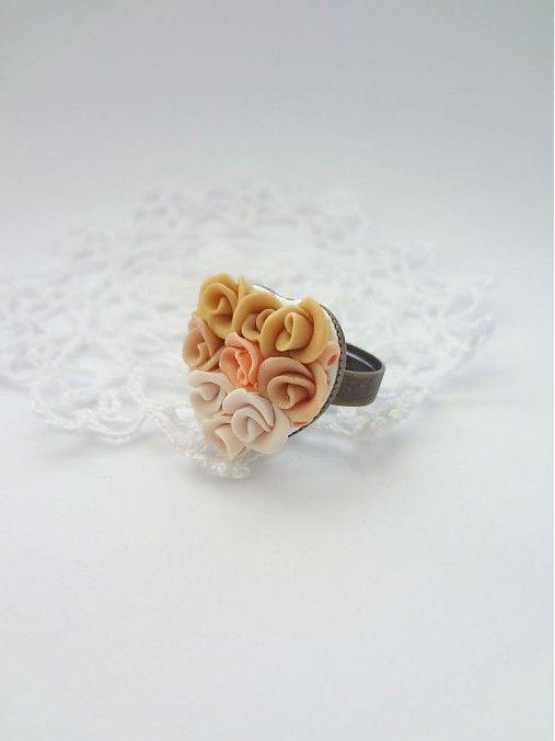 Mini roses by Dettus - SAShE.sk - Handmade Prstene