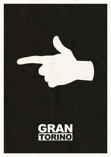 Gran Torino minimalist poster Zippertravel.com Digital Edition