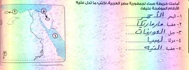 موسوعة خرائط الدراسات الاجتماعية للصف الرابع الابتدائي ترم أول 2019 للأستاذ أحمد عبد الواحد Https Www Myschool77 Com 2018 10 Mozkra D Office Supplies Notebook