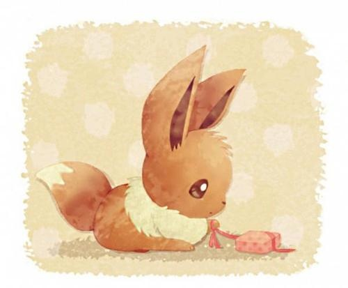 Why is Eevee so cute? I mean it's seriously so , So, SO cute =D