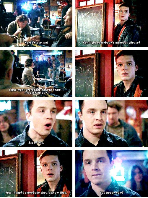 I loved this scene from last week!!! I love Ian and Mickey together!!!