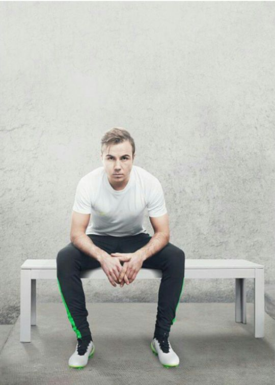 MARIO GOTZE --> THANK GOD FOR HIM