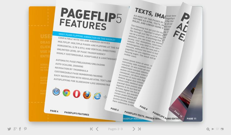 Pageflip 5, The Book Template for the Web now with new feature book: Meet Pageflip 5
