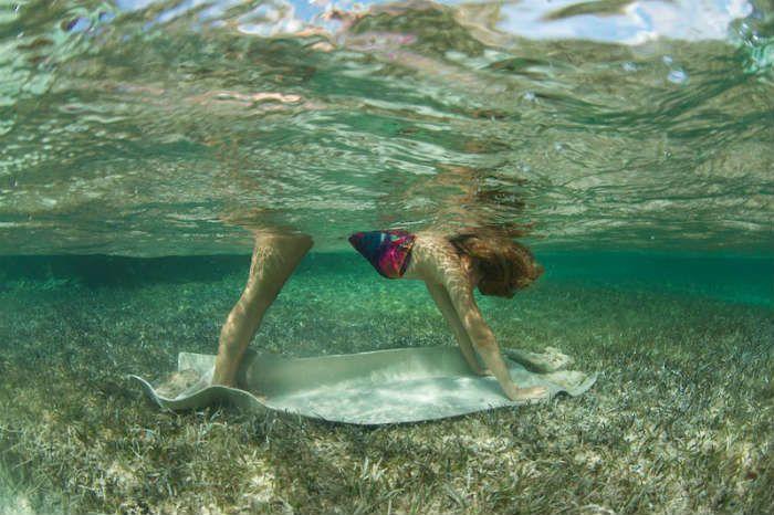 10 stunning images of 'Mermaid Yoga'