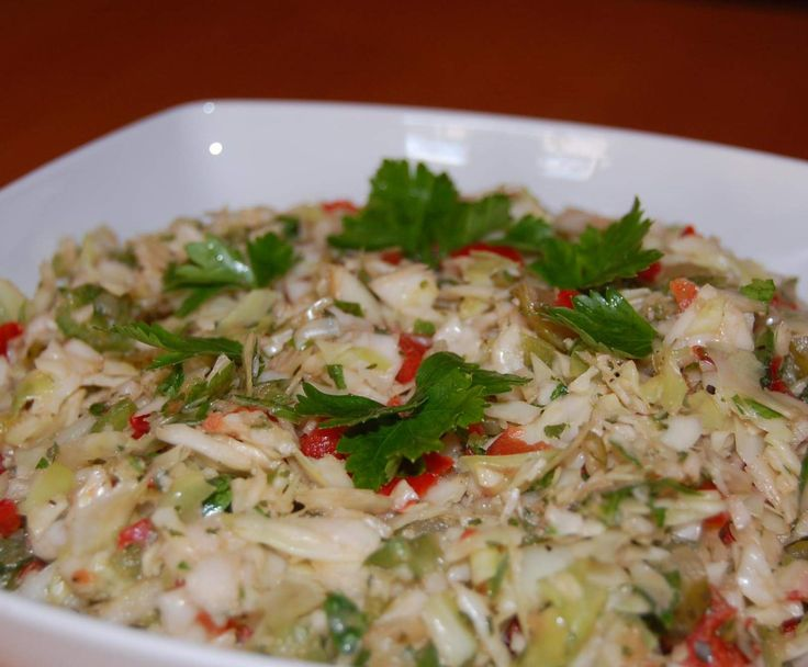 Rezept Griechischer Salat / Krautsalat von Lo-Di - Rezept der Kategorie Vorspeisen/Salate