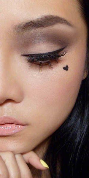 Makeup inspiration for Face tattoo makeup