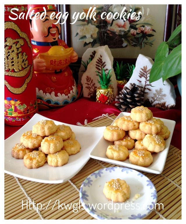 Messy wittchen salted egg cookies recipes