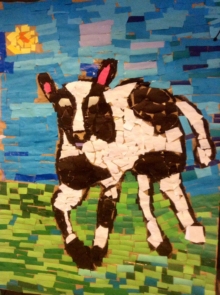 Cows Made by 6th graders