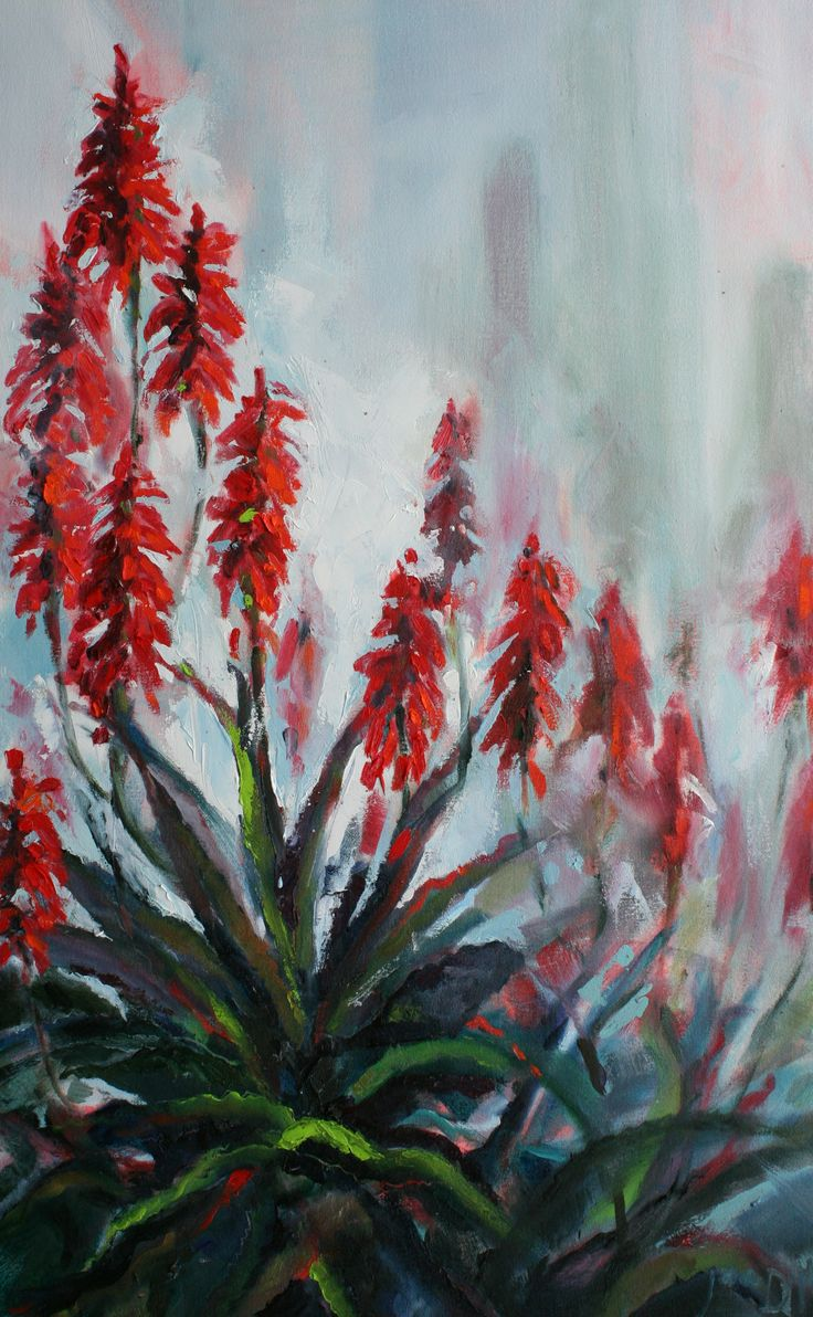 Aloes by Jane Digby (commission)