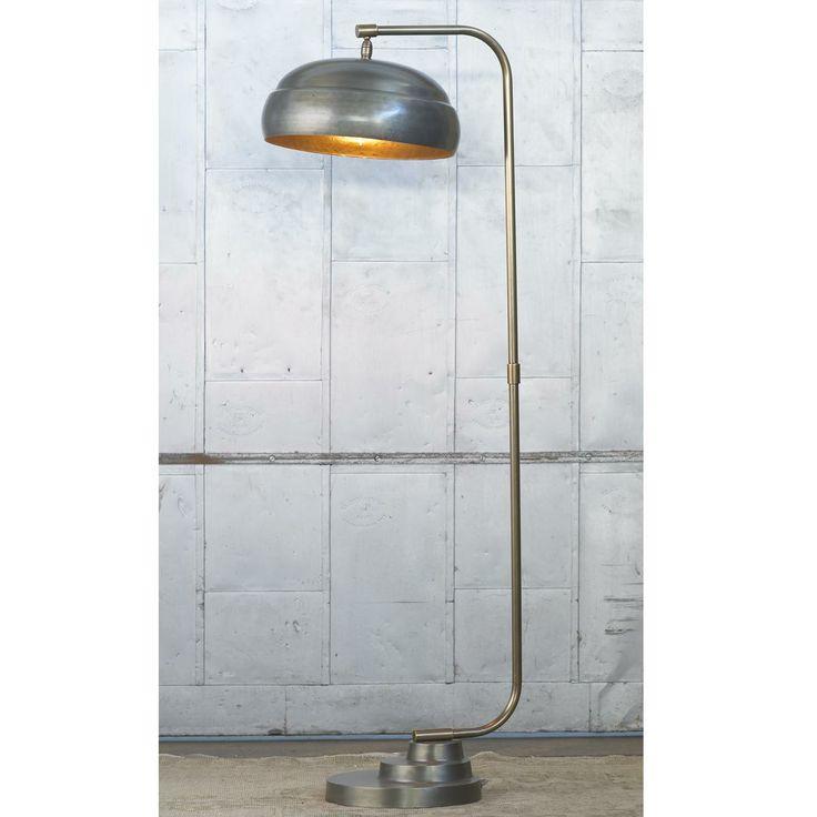 industrial chic floor lamp