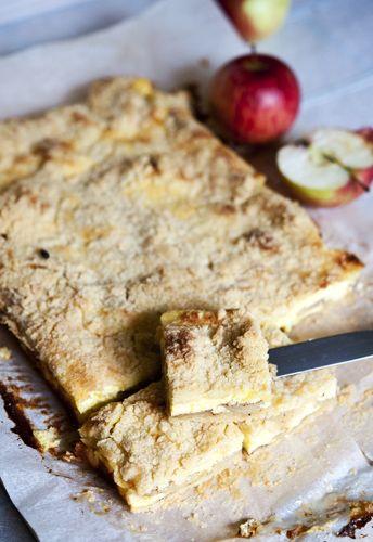 Kohupiima-õunakook purukattega ‹ Perenaine.ee