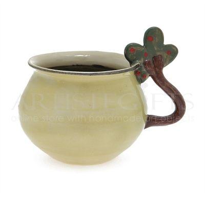 Κούπα Κεραμική Με Χερούλι Δέντρο. Αποκτήστε το online πατώντας στον παρακάτω σύνδεσμο http://www.artistegifts.com/koupa-keramiki-xerouli-dentro.html
