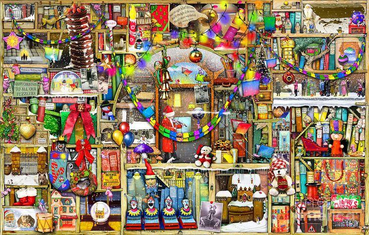 Christmas Digital Art - Christmas Stories by Colin Thompson