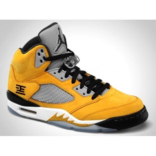 on sale 1acdc 5512b shop air jordan retro 5 yellow white ceec9 6e09d