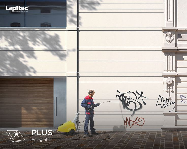 Spraypaint is no match for Lapitec® Urban finishes. Perfect for exterior facades, cladding, and walkways, Lapitec® sintered stone is anti-graffiti.