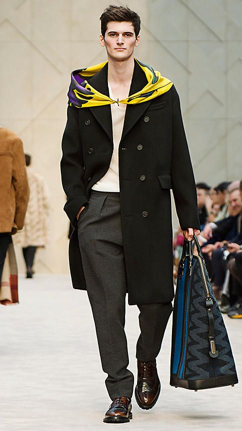 Long coat cashmere and wool | Burberry