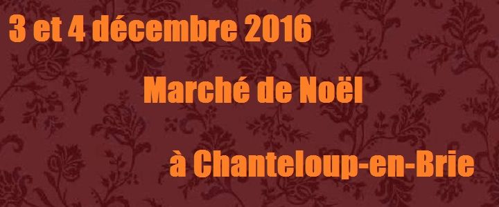 Venez découvrir Muse & Home sur le marché de Noël de Chanteloup-en-Brie