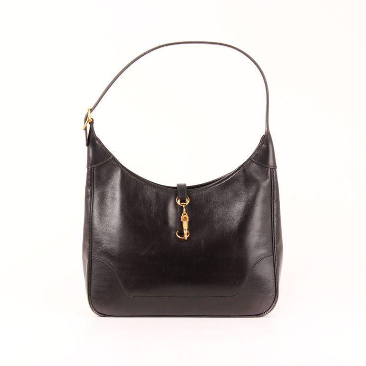 Hermès Trim in black Calf Box.
