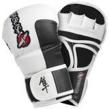 Hayabusa Tokushu 7oz Hybrid Gloves Hvide  Hayabusa MMA Sparring Handsker