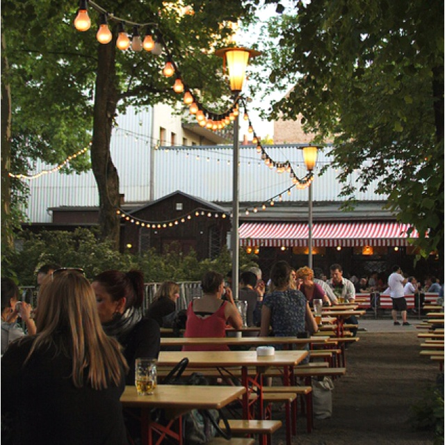 Prater Garten in Berlin