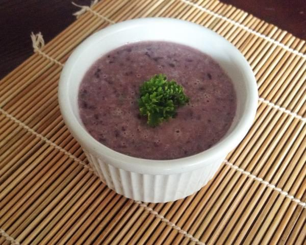 Receta de Hummus de frijoles negros - RecetasGratis.net