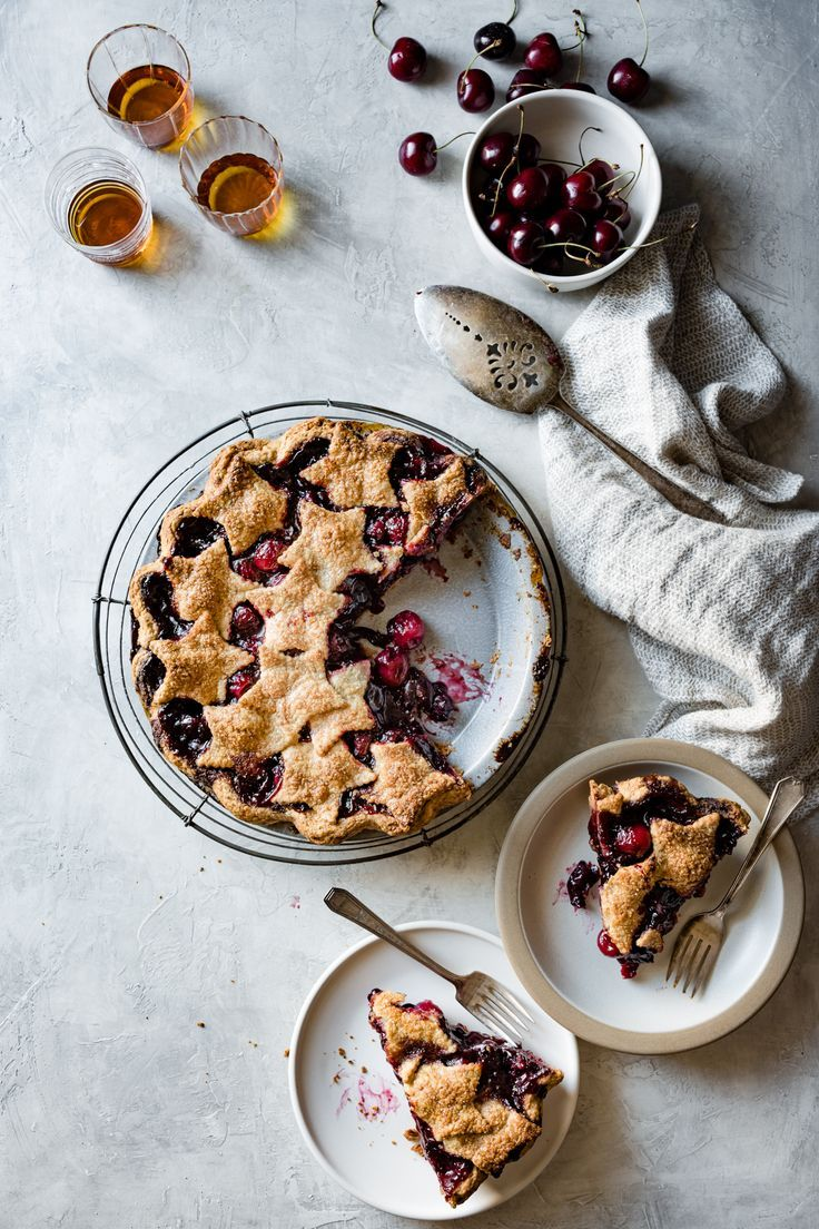 Kissed with whiskey, cinnamon, and chile in a gluten-free, whole-grain crust, this flavorful dessert will make all your bourbon cherry pie dreams come true.