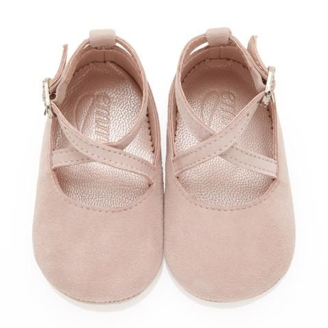 How cute 💕Mimi Rose Pink - Baby Girl Shoes - Rose Soft  Suede
