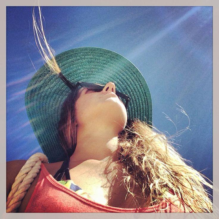 A photo a day keeps the boredom away Beachside shameless selfie