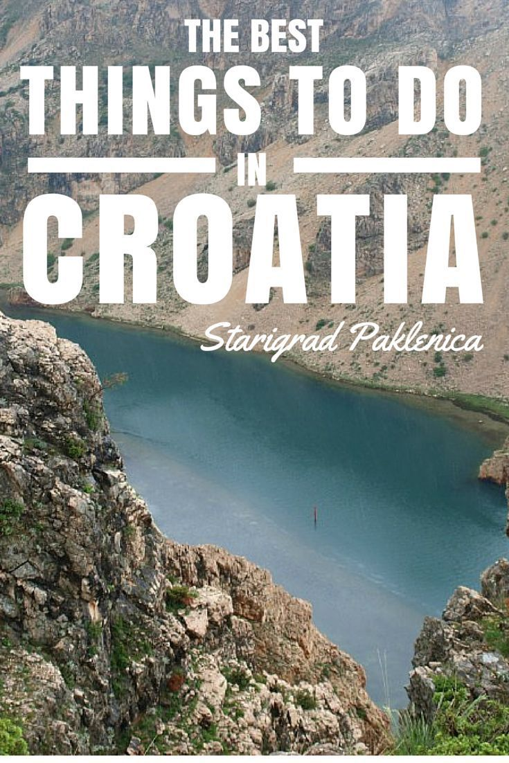 Things to do in Croatia. Starigrad Paklenica. Starigrad Paklenica is a town that sits at the base of the towering Velebit mountains, in northern Dalmatia, just 40km from Zadar. Mother nature blessed Croatia when it comes to nature, and she gave Starigrad Paklenica an extra blessing by sitting the Paklenica National Park right next door. Click to read more..