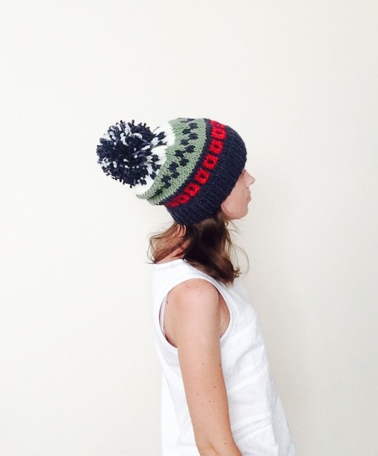 17 Best images about Hand Knitted Hat on Pinterest | Fair isles ...