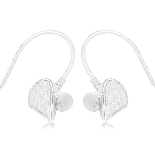 Special Offers - Cheap VBASS In-Ear Headphones Noise Isolating Earbuds with Microphone Sweatproof Secure Fit Designed to Stay in your Ears (White) - In stock & Free Shipping. You can save more money! Check It (November 27 2016 at 10:23AM) >> http://eheadphoneusa.net/cheap-vbass-in-ear-headphones-noise-isolating-earbuds-with-microphone-sweatproof-secure-fit-designed-to-stay-in-your-ears-white/