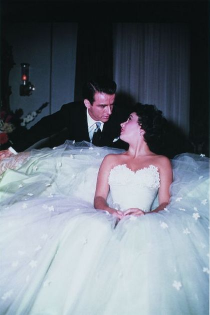 Elizabeth Taylor and Montgomery Clift, 1951/Two of the most beautiful people in Hollywood history...