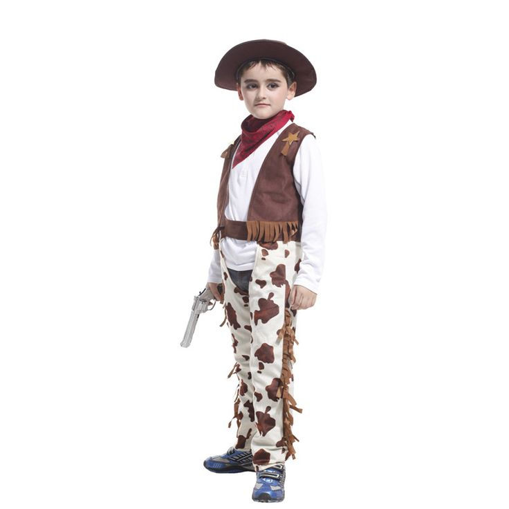 ==> [Free Shipping] Buy Best 2017 New Cowbor Kids Unisex Cosplay Costume Party Fancy Dress Children Wild West Carnival Halloween Birthday Masquerade Ball Online with LOWEST Price | 32811418733