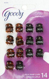 Goody Mini Clip, Micro 14 Pack by Goody. $4.46. 41314. Goody Mini Clip, Micro 14 Pack. 041457413142. Goody Micro Mini Crown Clips 14 pack