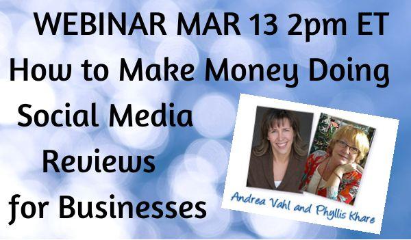 How to Make Money Doing Social Media Reviews for Businesses.